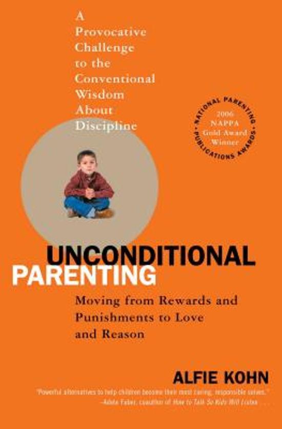 Boekcover: Unconditional Parenting, Alfie Kohn